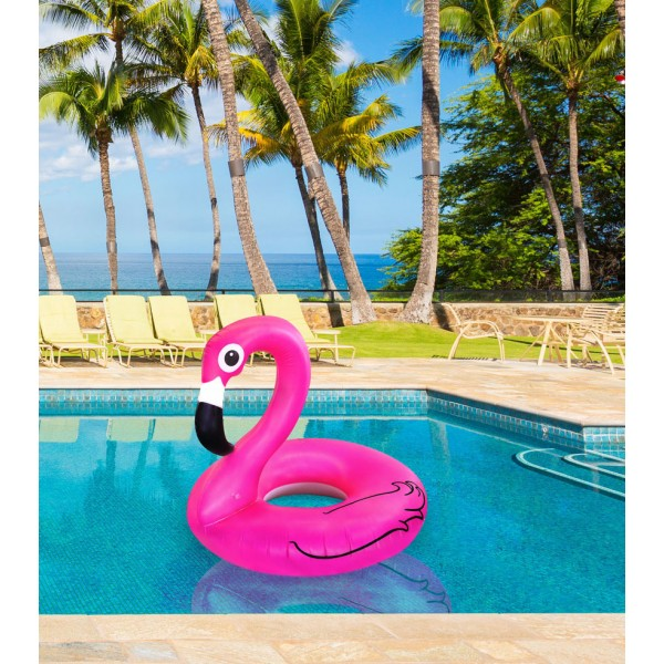 bouee-gonflable-flamant-rose